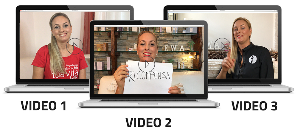 3 video per dimagrire segreti