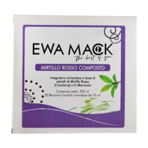 foto integratore natuale mirtillo rosso composto ewa mack