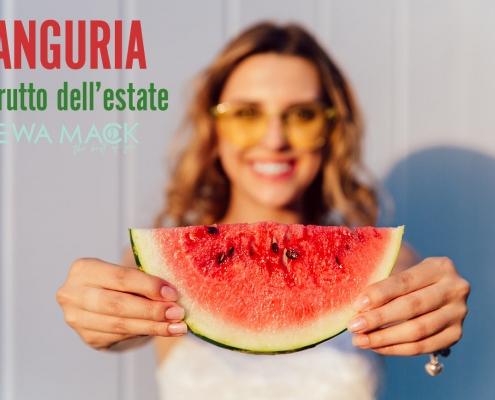 foto anguria frutto estivo proprietà e benefici